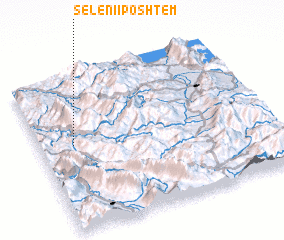 3d view of Seleni i Poshtëm