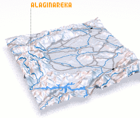 3d view of Alagina Reka