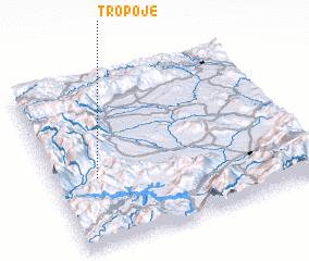3d view of Tropojë