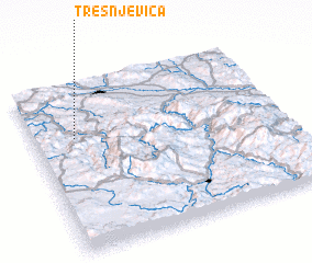3d view of Trešnjevica