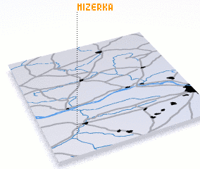 3d view of Mizerka