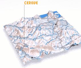 3d view of Cerovë