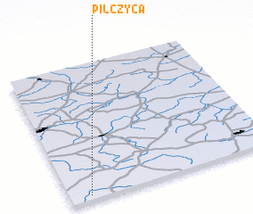 3d view of Pilczyca