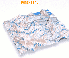 3d view of Vërzhezaj