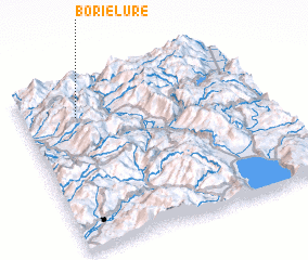 3d view of Borie-Lurë