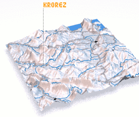 3d view of Krorëz