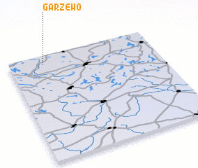 3d view of Garzewo