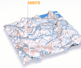 3d view of Koritë