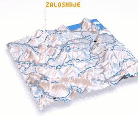 3d view of Zaloshnjë