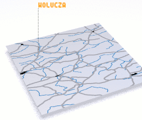 3d view of Wołucza