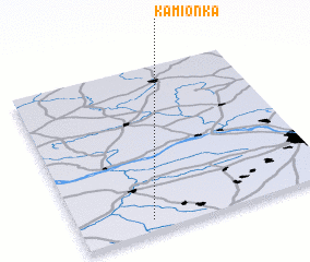 3d view of Kamionka