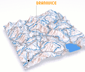3d view of Dranovicë