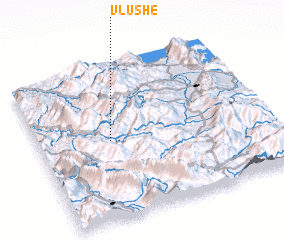 3d view of Vlushë