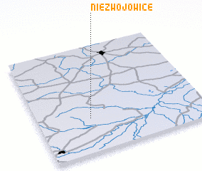 3d view of Niezwojowice