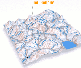 3d view of Valikardhë