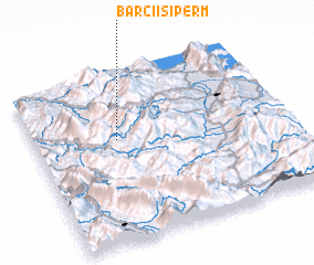 3d view of Barçi i Sipërm