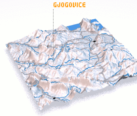 3d view of Gjogovicë