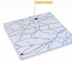 3d view of Zakrzówek