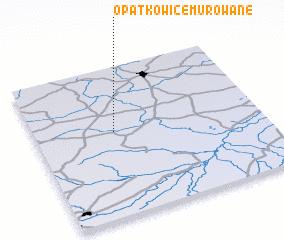 3d view of Opatkowice Murowane