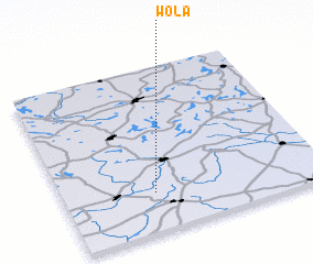 3d view of Wola