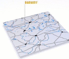 3d view of Barwiny