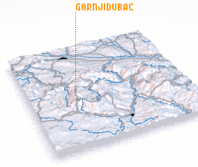 3d view of Gornji Dubac