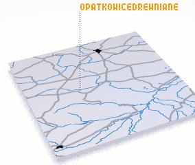 3d view of Opatkowice Drewniane