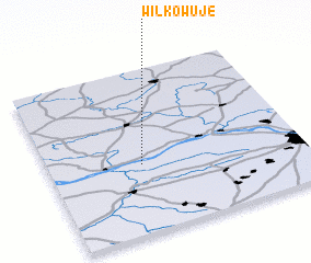 3d view of Wilkowuje