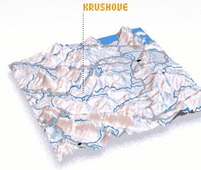 3d view of Krushovë
