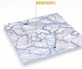 3d view of Bogičevići