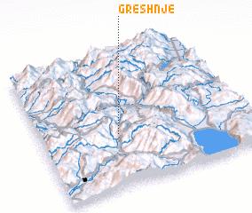3d view of Greshnjë