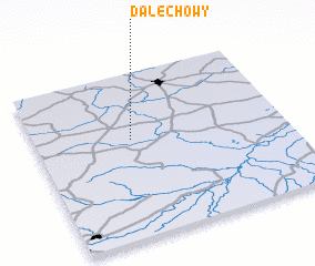 3d view of Dalechowy