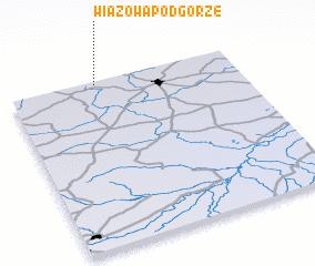 3d view of Wiązowa Podgórze
