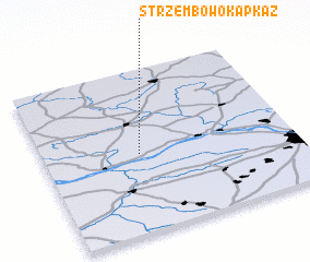 3d view of Strzembowo Kapkaz