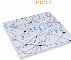 3d view of Zaborowo