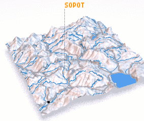 3d view of Sopot