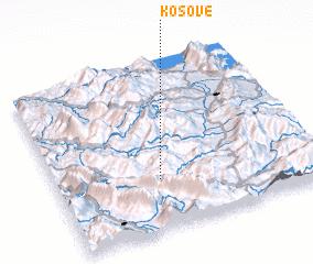 3d view of Kosovë