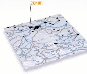 3d view of Zemun