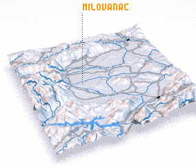 3d view of Milovanac