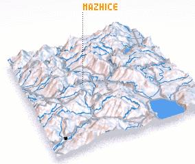 3d view of Mazhicë