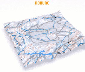 3d view of Romune