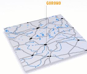 3d view of Górowo