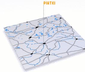 3d view of Piątki