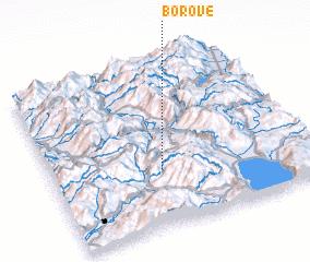 3d view of Borovë