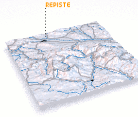3d view of Repište