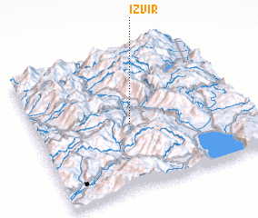 3d view of Izvir