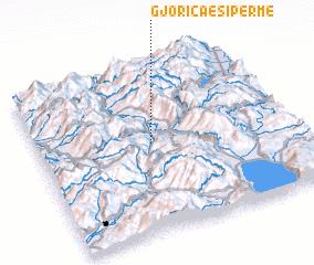 3d view of Gjorica e Sipërme