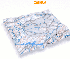3d view of Žabelj