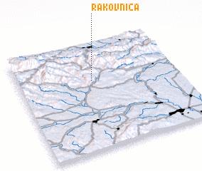 3d view of Rakovnica