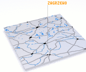 3d view of Zagrzewo